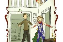 Christmas Book Illustrations