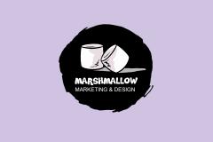 Logo Marshmellow marketing